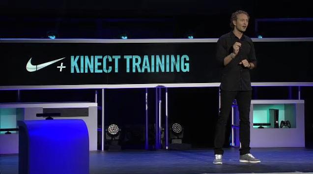 nike Nike+ Kinect Training jumping onto 360