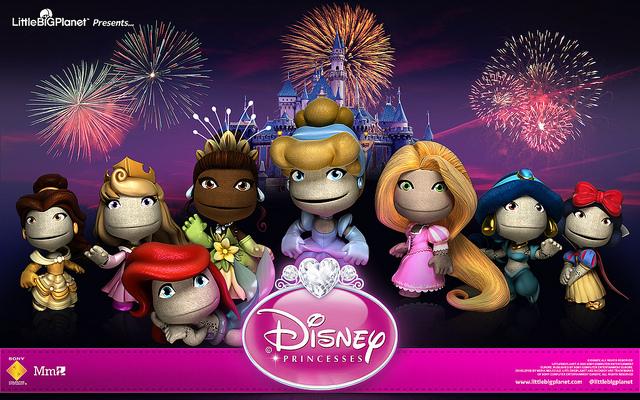 7631142760_07063a1a7d_z Be a pretty, pretty Disney princess with LittleBigPlanet 2