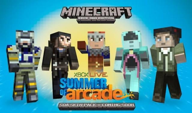 Minecraft-Skins-640x378 XBLA version of Minecraft builds audience of 3 million