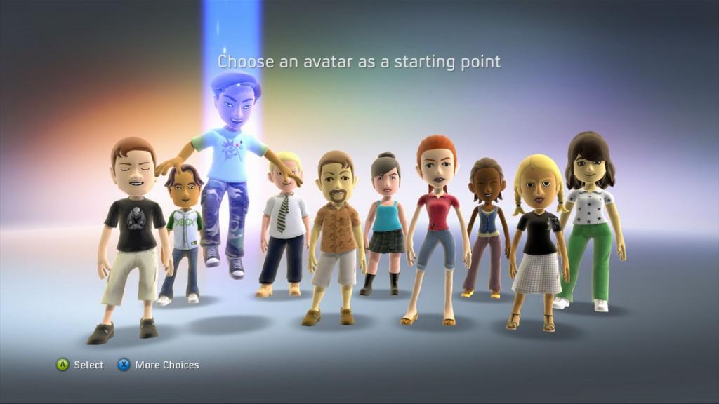 avatareditorstartingpoint-1024x576 Avatar-based XBLA games getting unified 'Famestar' rewards