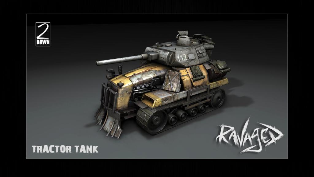 tank-1024x576 Free DLC coming to 2Dawn's Ravaged