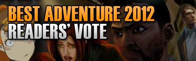 adventure Best Adventure Game 2012 – Readers' Vote