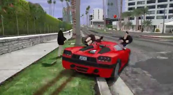 gta-v GTA V to GTA IV PC mod gets more gameplay footage