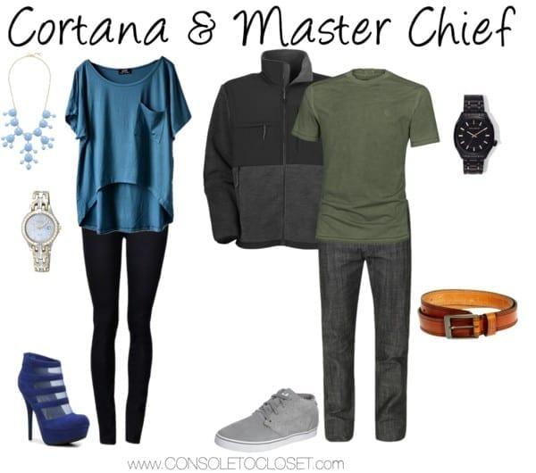 Cortana Master Chief