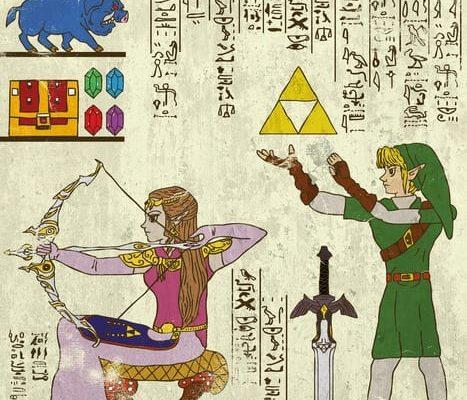 Hieroglyphics Legend Of Zelda