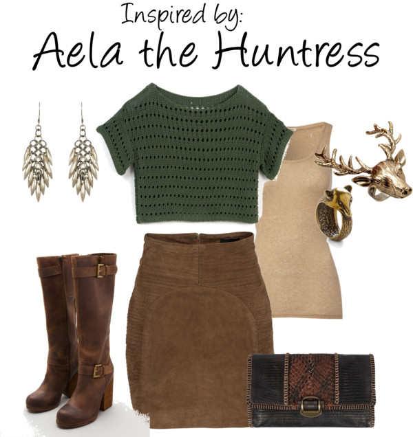 Skyrim Aela Outfit