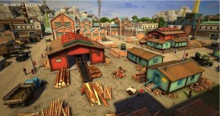 Tropico 5 Lumber Mill