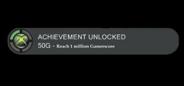 Xbox player achieves 1 million Gamerscore