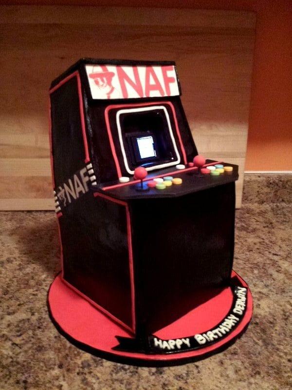 Arcade Cake