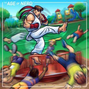 The Age Of Nerd Ryu Vs Merry Go Round By Rockydavies D7az54b