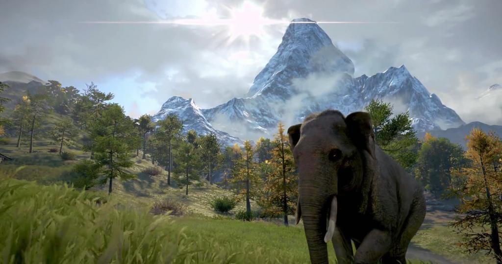 Far Cry 4 Wallpaper Elephant: Far Cry 4 Trailer Supplies Some Dubious Elephant Facts