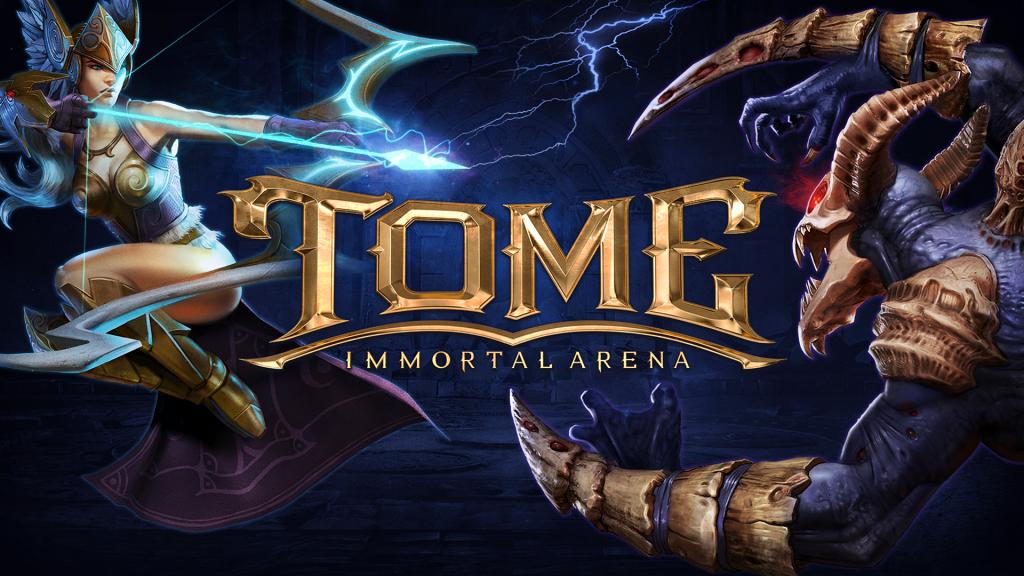 TOME Immortal Arena_Key Art