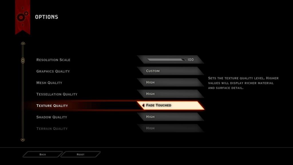 Dragon Age Inqusition options 1