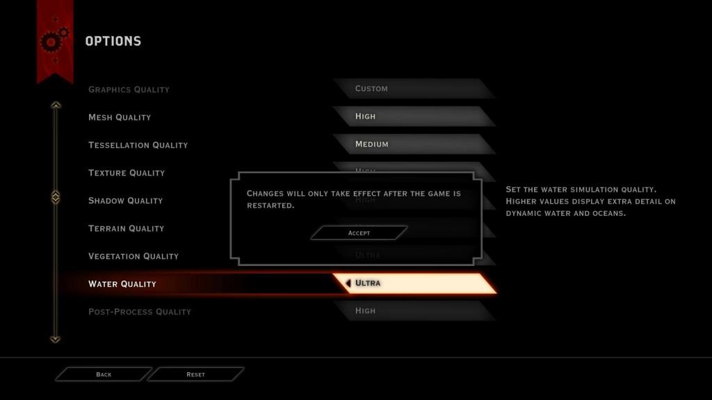 Dragon Age Inqusition options 2