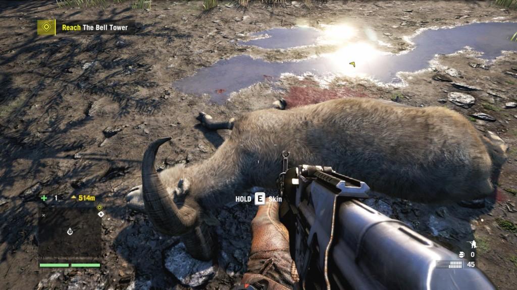Far Cry 4 fur