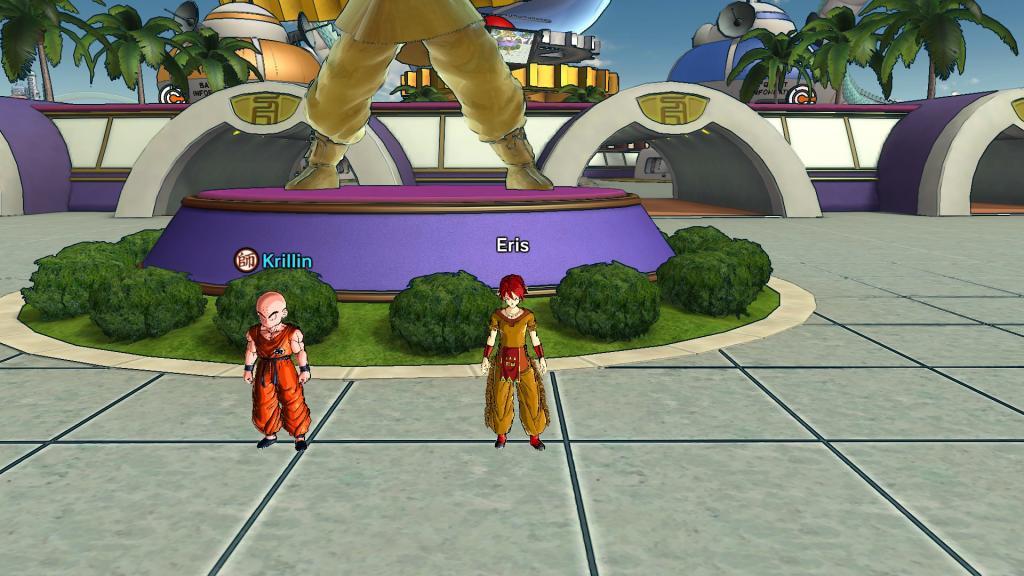 Dragon Ball Xenoverse - low detail