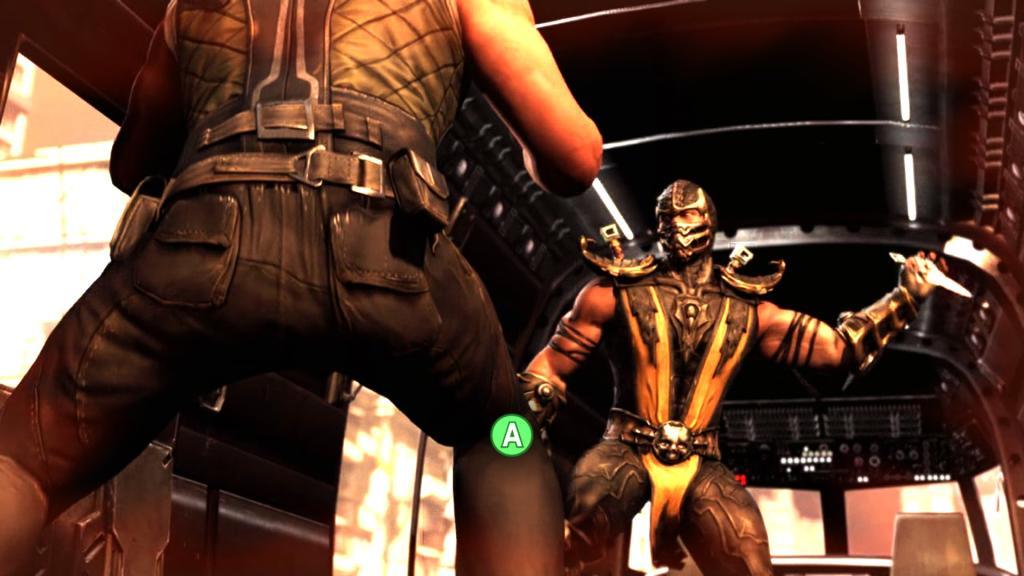 Mortal Kombat X - QTE