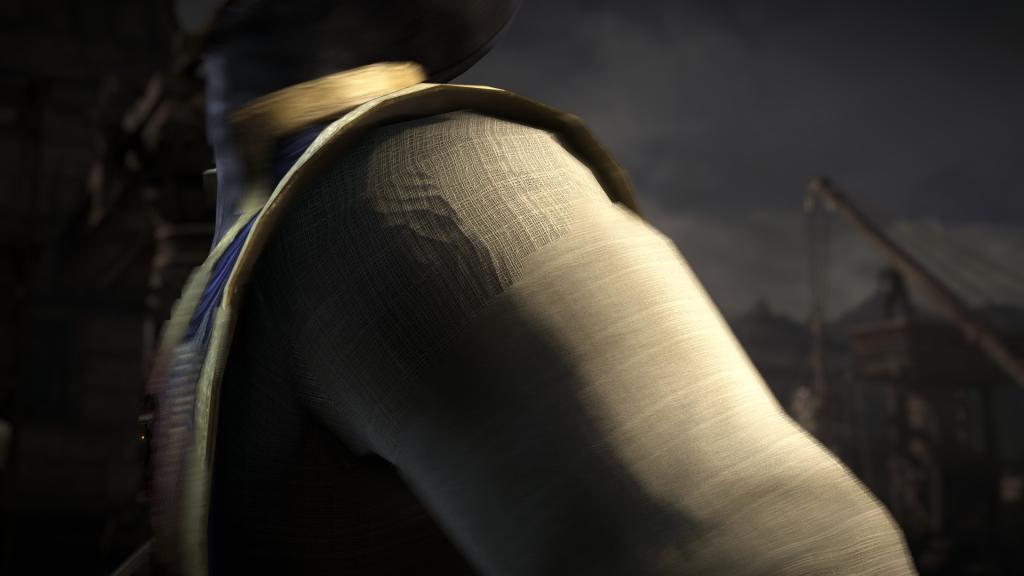 Mortal Kombat X - Seriously that arm