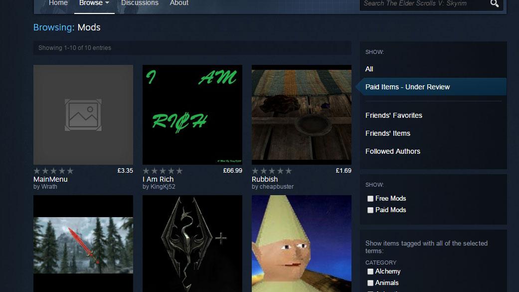 Steam Workshop paid mod backlash begins: should modders be