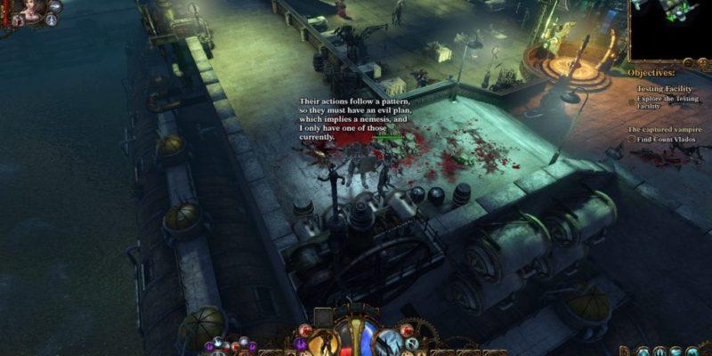 Van Helsing Game