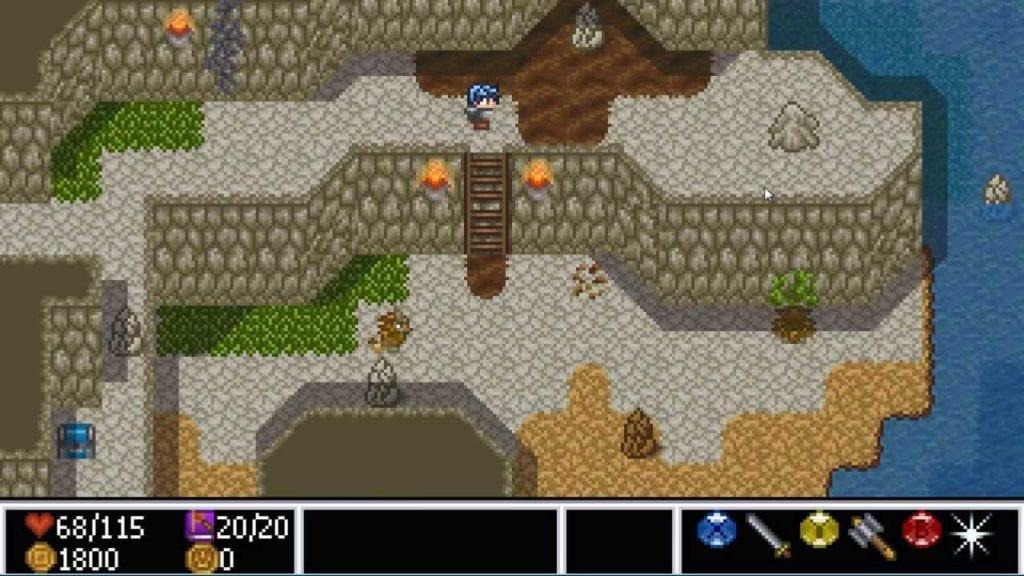 16-bit Zelda style RPG Gheldia Interview with Phillip Hunt
