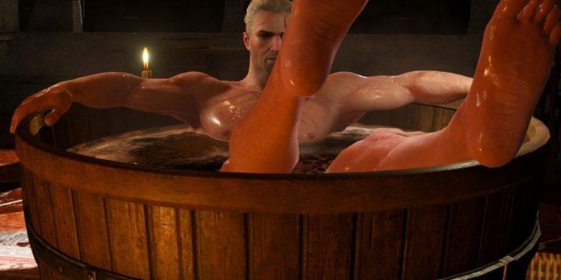 Witcher 3 geralt tub trailer