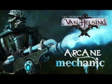 Arcane Mechanic class DLC comes to Van Helsing today