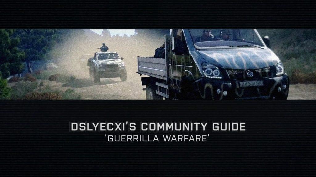 Arma 3 Community Guide talks guerrilla warfare | PC Invasion
