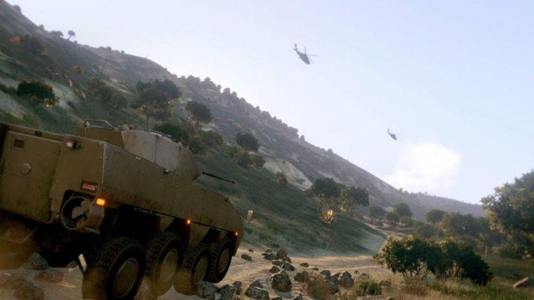 Arma-ed warfare: Arma 3 beta trailer looks very, very pretty