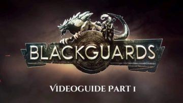 Blackguards tutorial videos explain the rules of The Dark Eye