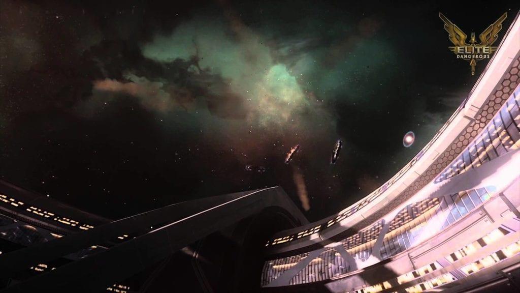 Braben's Elite: Dangerous dev diary video explains the Capital ship trailer