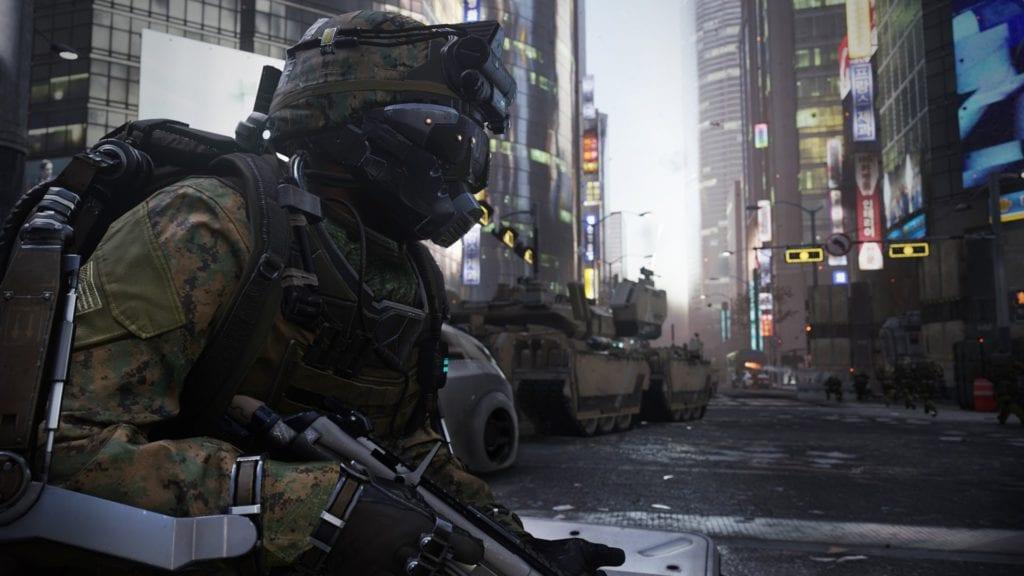 Call of Duty: Advanced Warfare E3 gameplay has robots, corridors, pathos
