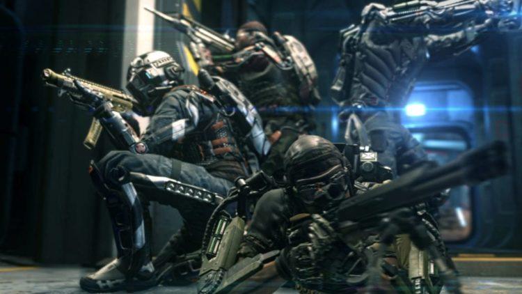 Call of Duty: Advanced Warfare trailer has a bit of co-op in it