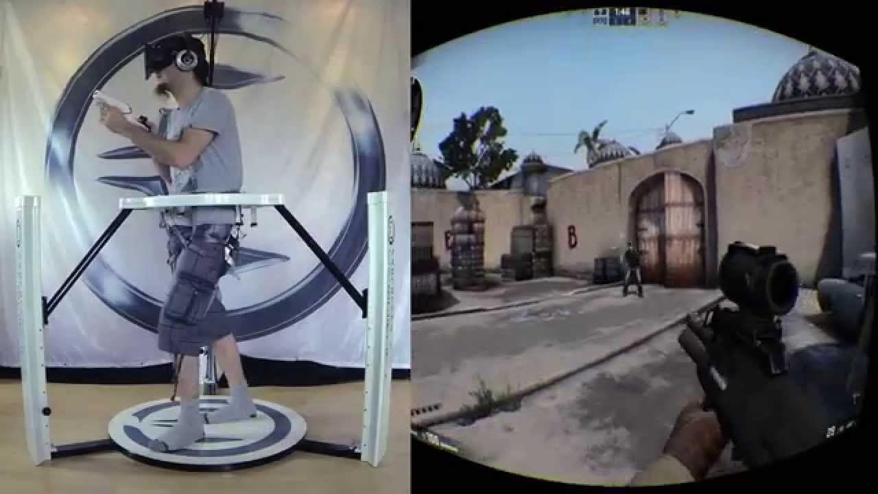 Cyberith Virtualizer gets Kickstarter date