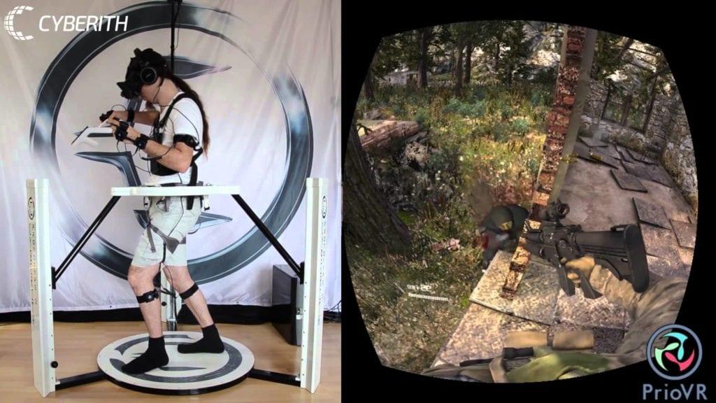 Cyberith Virtualizer hits $250,000 Kickstarter goal