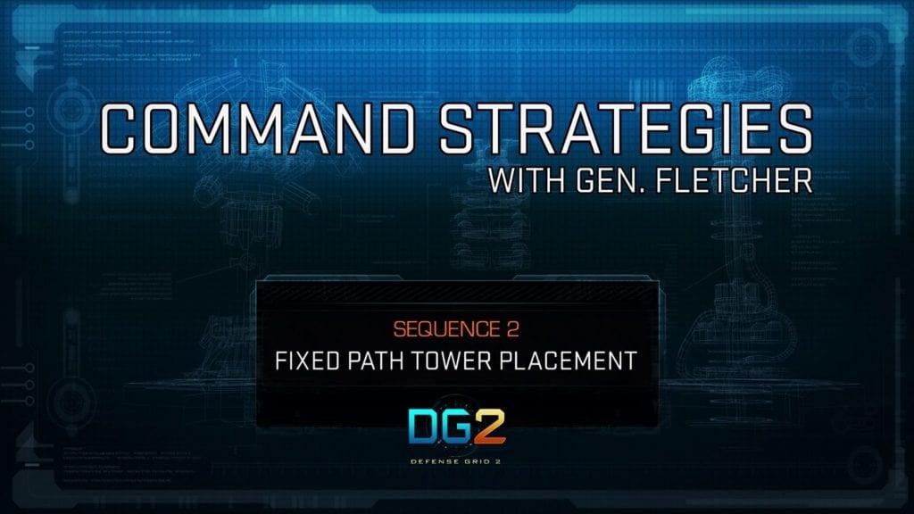 "Defense Grid 2 video talks ""fixed path"" levels"