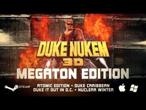 Duke Nukem 3D drops a Megaton on Steam