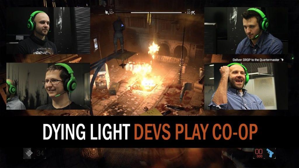 Dying Light co-op mode demoed by the devs