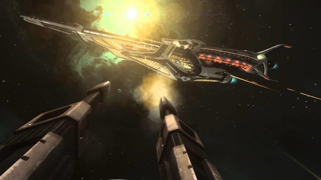 Elite: Dangerous video shows capital ships getting dangerous