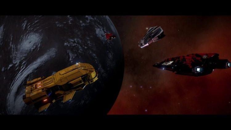 Elite: Dangerous Wings update 1.2.04 today, plus trailer