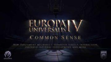 Europa Universalis 4's next expansion adds Common Sense