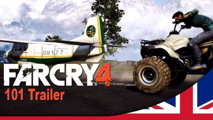 Far Cry 4's 101 trailer is a bit spoiler heavy