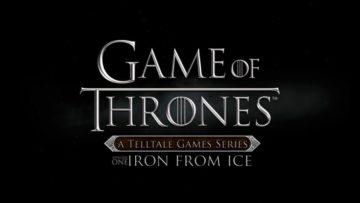 Game of Thrones Episode One arrives 2 December