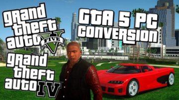 GTA V to GTA IV PC mod gets a new video – Mod team expands