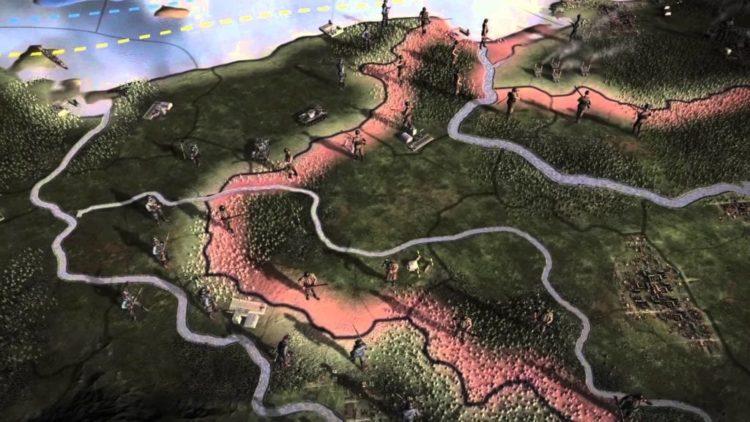 Hearts of Iron IV Gamescom trailer and screens