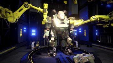 Heavy Gear Assault E3 preview video – Boarding a Gear