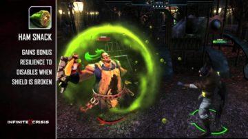 Infinite Crisis Gaslight Joker throws ham in character profile trailer
