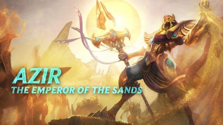 League of Legends Champion Spotlight reveals Azir