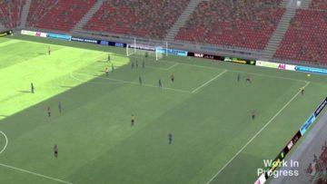 Matchstick men: Football Manager's 2014 match engine footage