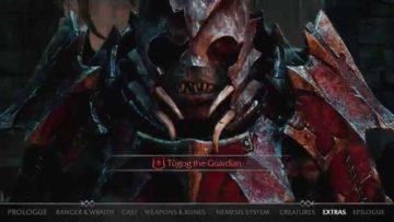Middle-earth: Shadow of Mordor trailer summarises the basics